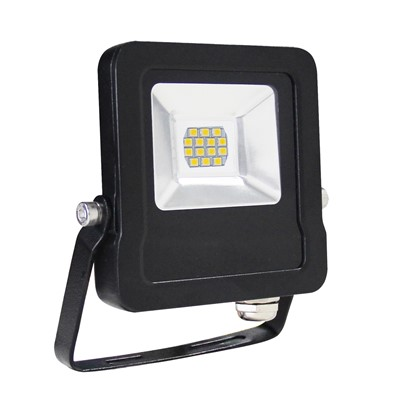 10W 900Lm 6.5K IP65 FLOODLIGHT ALUMINIUM