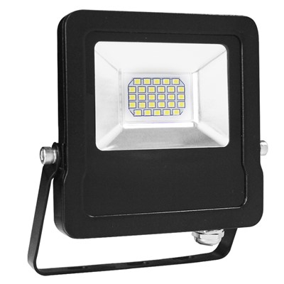 20W 1800Lm 6.5K IP65 FLOOD ALUMINIUM